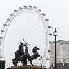 Boudicca (britannische Königin) vor dem London Eye