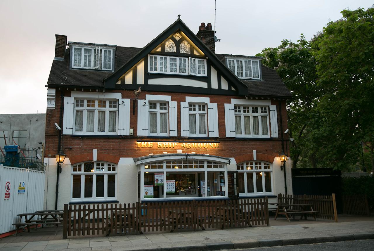 A pub nearby