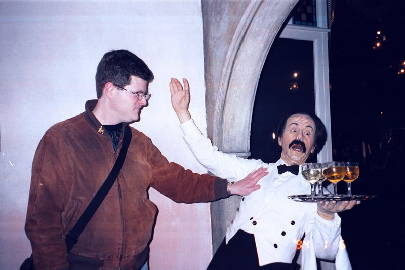 "Andrew Sachs (Manuel from ""Faulty Towers"") - Madame Tussaud's Wax Museum"