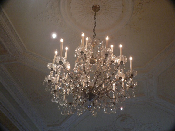 Chandelier at Royal Horseguards Hotel
