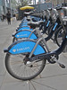 People can rent these bikes to get around London