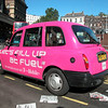 Jeez Louise, it really hurts your eyes... Gay Taxi??? Go Pink with T-Mobile....