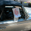 Quite handy: a note on the other side of the clamped car....  DON'T MOVE!!!