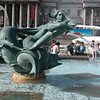 The pond on Trafalgar Square