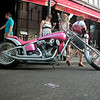 She gave me an instant 'boner'. Nice paint job.... (I'm talking about the bike..)