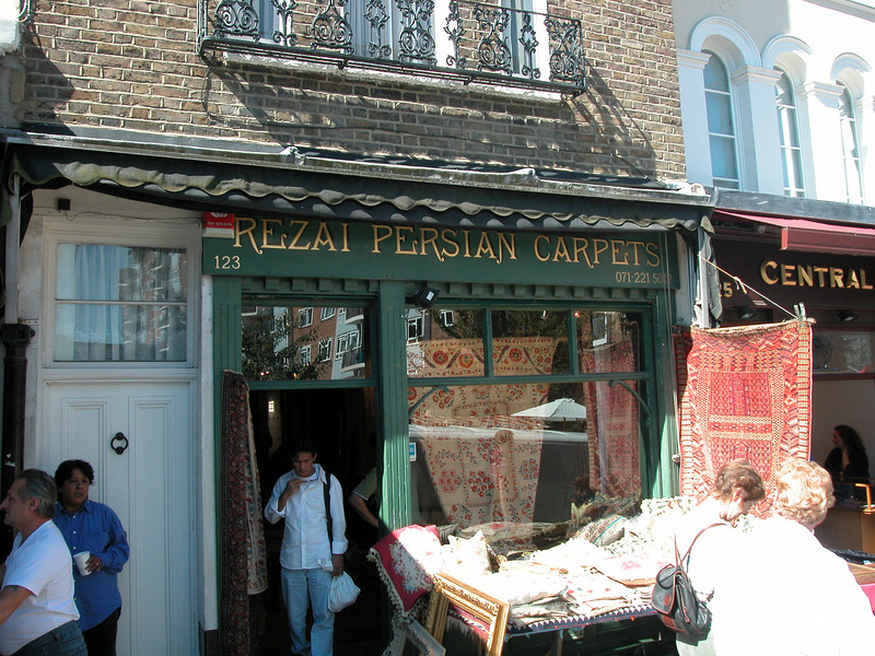 The REAL thing: Persian carpets.