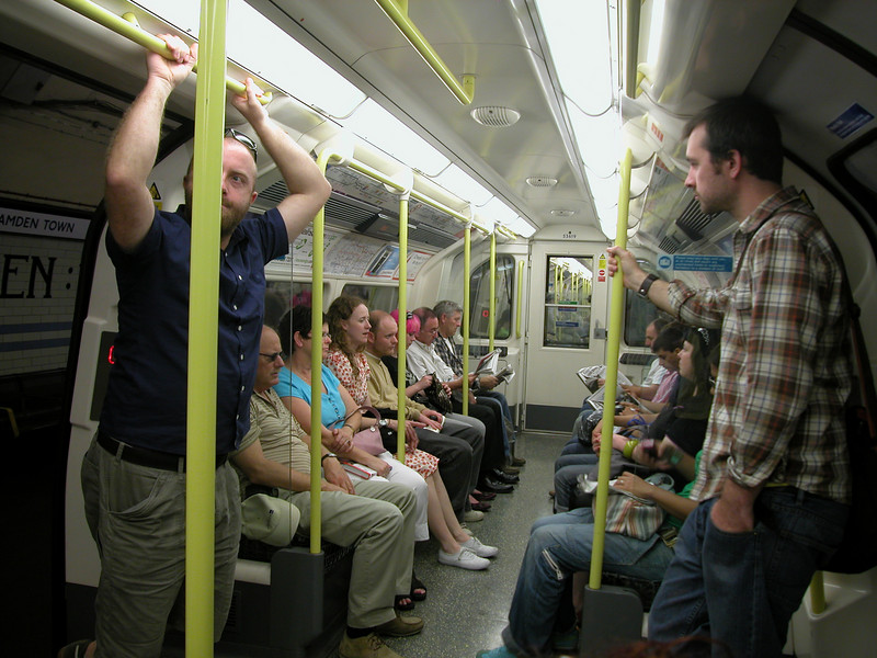 In the Tube... (also check out the tube VIDEO in one of the other galleries!!)