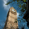 The Big Ben, next to the Houses of Parliament. Impressive!!! Brittain rules the waves AND clocks!!