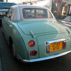 From it's rear this Nissan 'Figago' looks a bit like the Renault Dauphine (1956)