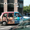 Quite a nicely decorated taxi, better then the usual boring black. GO TURKEY, folks!!!