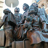 Statue to remember the jewish children that were taken away during WW II