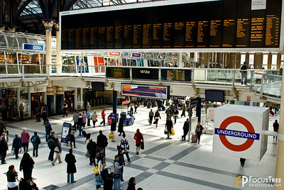 London Underground Transportation Station