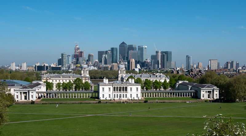 Old and new in Greenwich