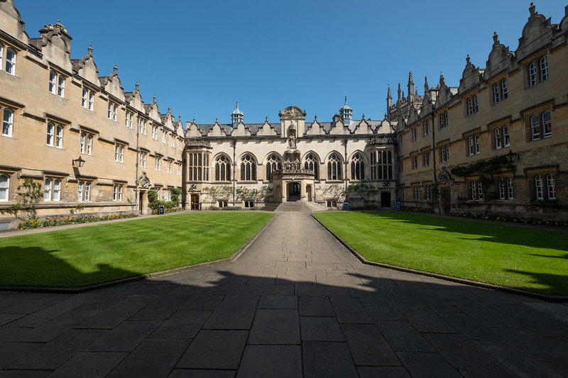 Exeter College- Typical college at Oxford