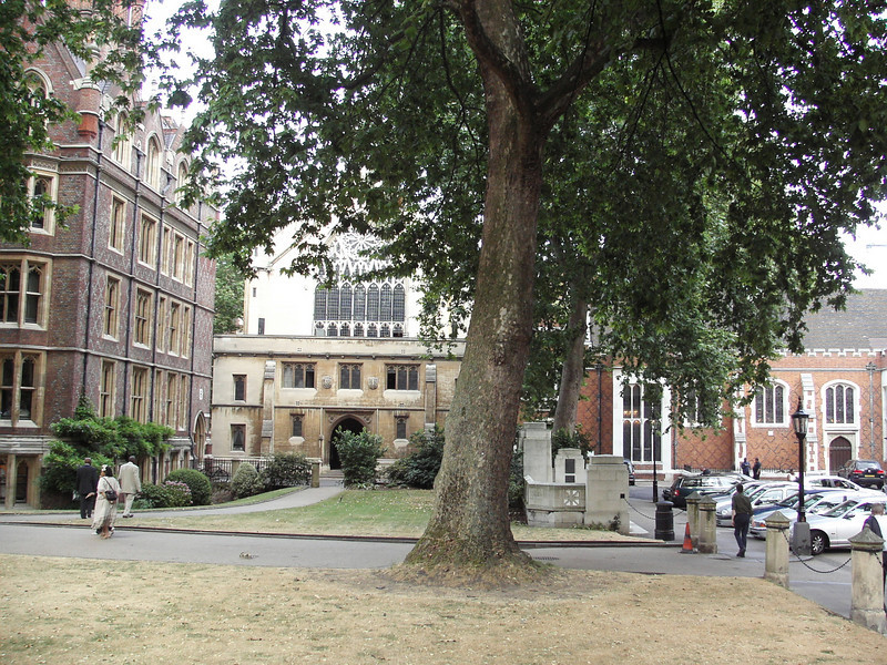 Lincoln's Inn, London, showing the Capel and Old Hall