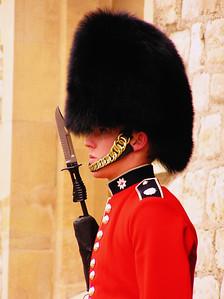 Guard inside Tower