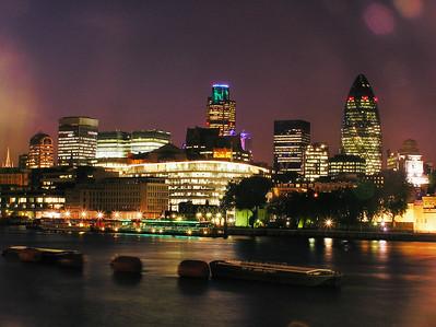 Night View from Tower Bridge