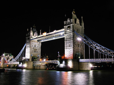 Tower Bridge at night