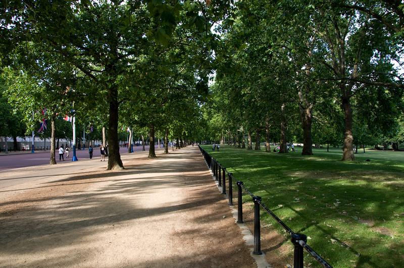 Near Buckingham Palace - St. James Park