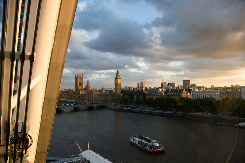 Parliament from The London Eye