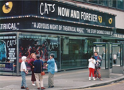 Cats - New London Theatre West End London England - Jun 96