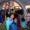 Suzie and Sean in the London Eye.