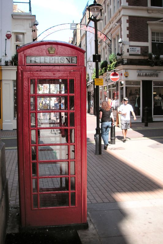 A London Telephone Booth (For Anthony!)