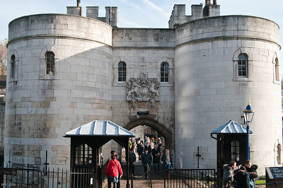Tower Of London Entrance  Nov 2010