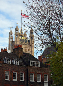 Victoria Tower, from Smith Square, Westminster