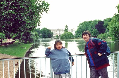 Lan and Gill St James Park London England - Jun 96