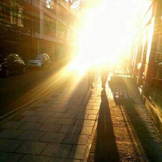 Me in London
