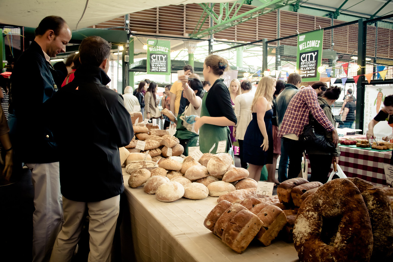 borough market bakery