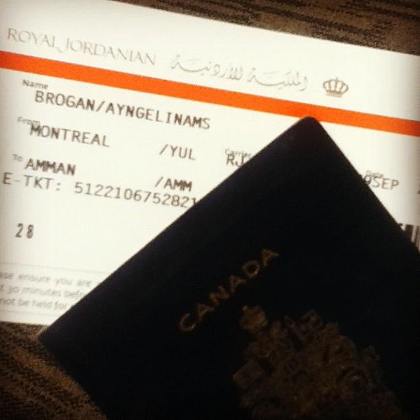Officially ready to go to #Jordan with @RoyalJordanian !