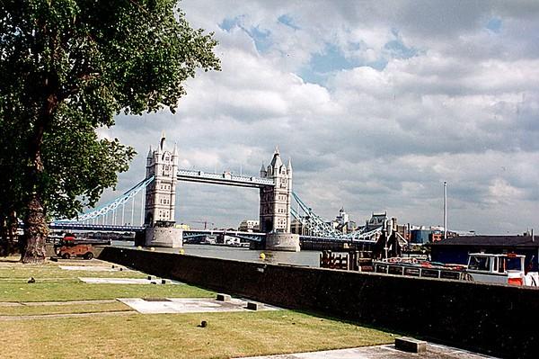 Tower Bridge London England - Jun 96