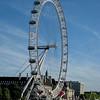 the Thames - the London Eye