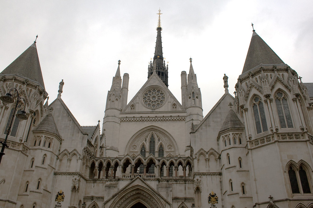 This is the Royal Court of Justice. In other words, their courthouse.