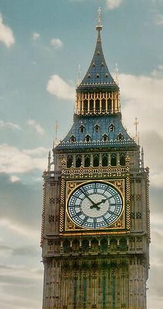Big Ben London England - Jun 96