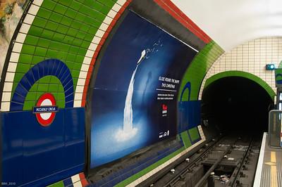 Piccadilly Tube Stop London Nov 2010