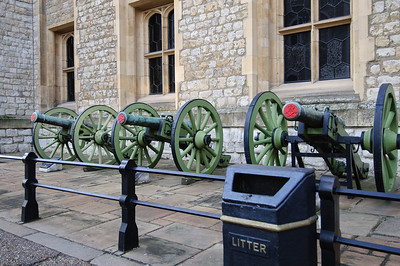 Guns at the Tower Of London Nov 2010