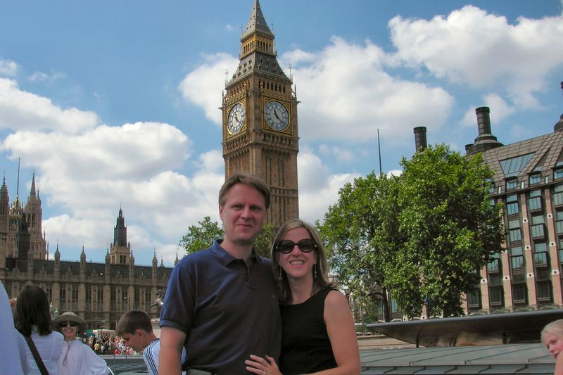 Scott & Elizabeth at Big Ben