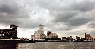 Canary Wharf, Docklands London England - Jun 96