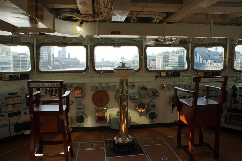 HMS Belfast bridge