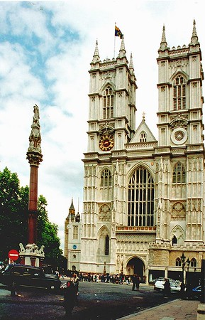 Westminster Abbey London England - Jun 96