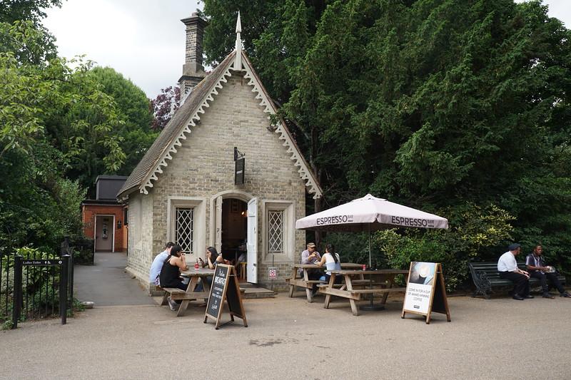 Regents Park cafe