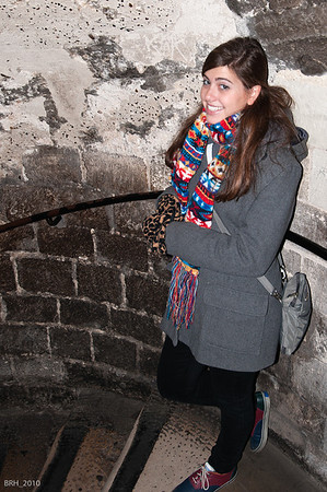 Carlie in Tower of London Nov 2010