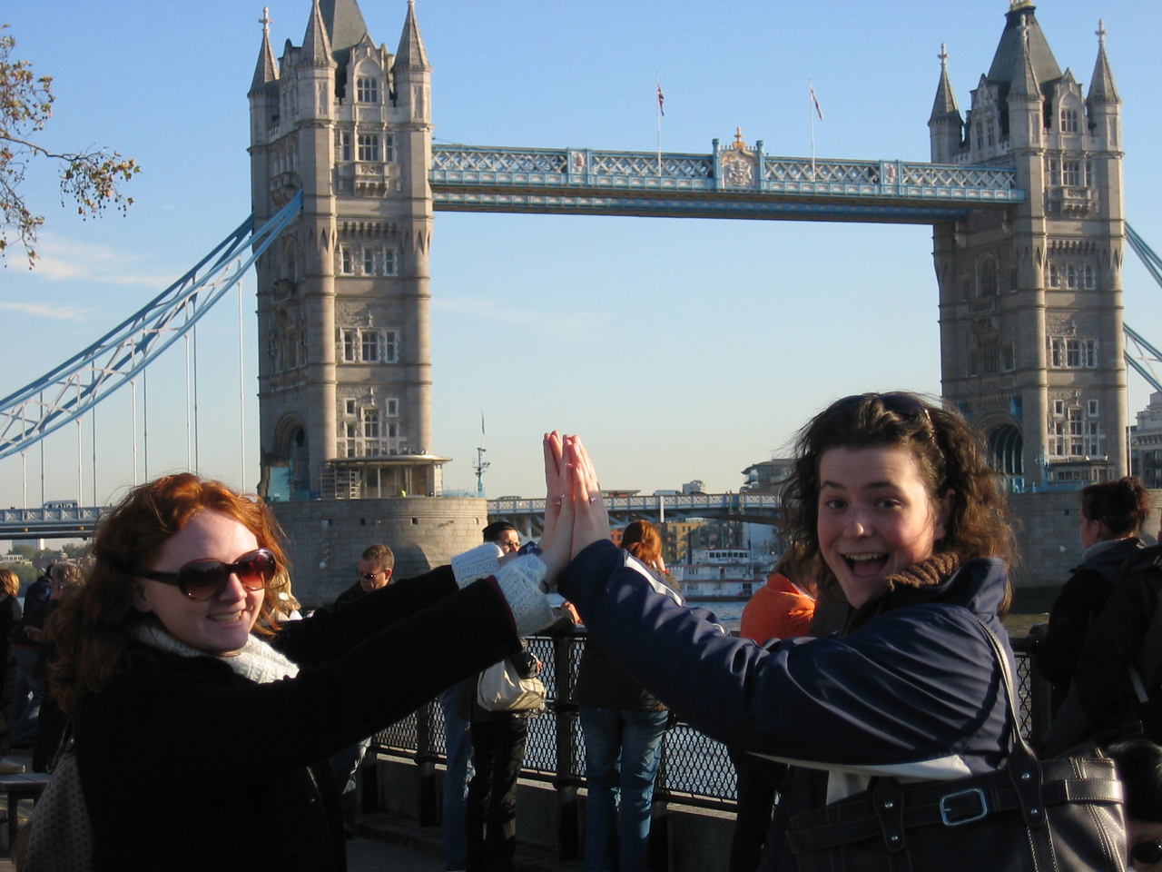 We thought this was London Bridge. Stupid tourists.