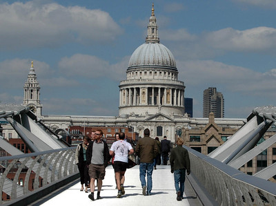 Millennium Bridge & St. Paul's