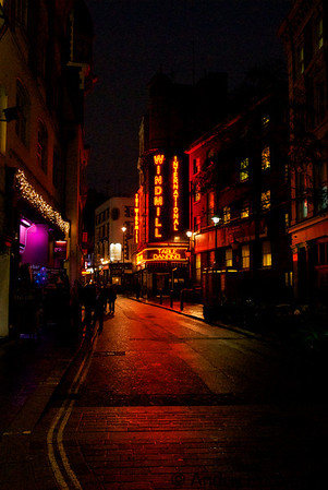 Soho by night