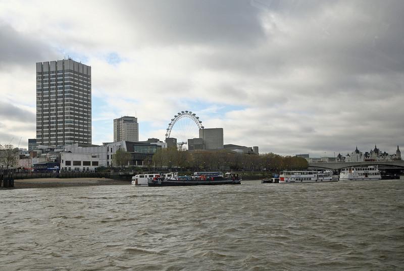 London 2008 - Thames River - London Eye