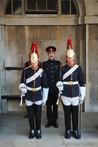 Change of the guard, Horse Guards
